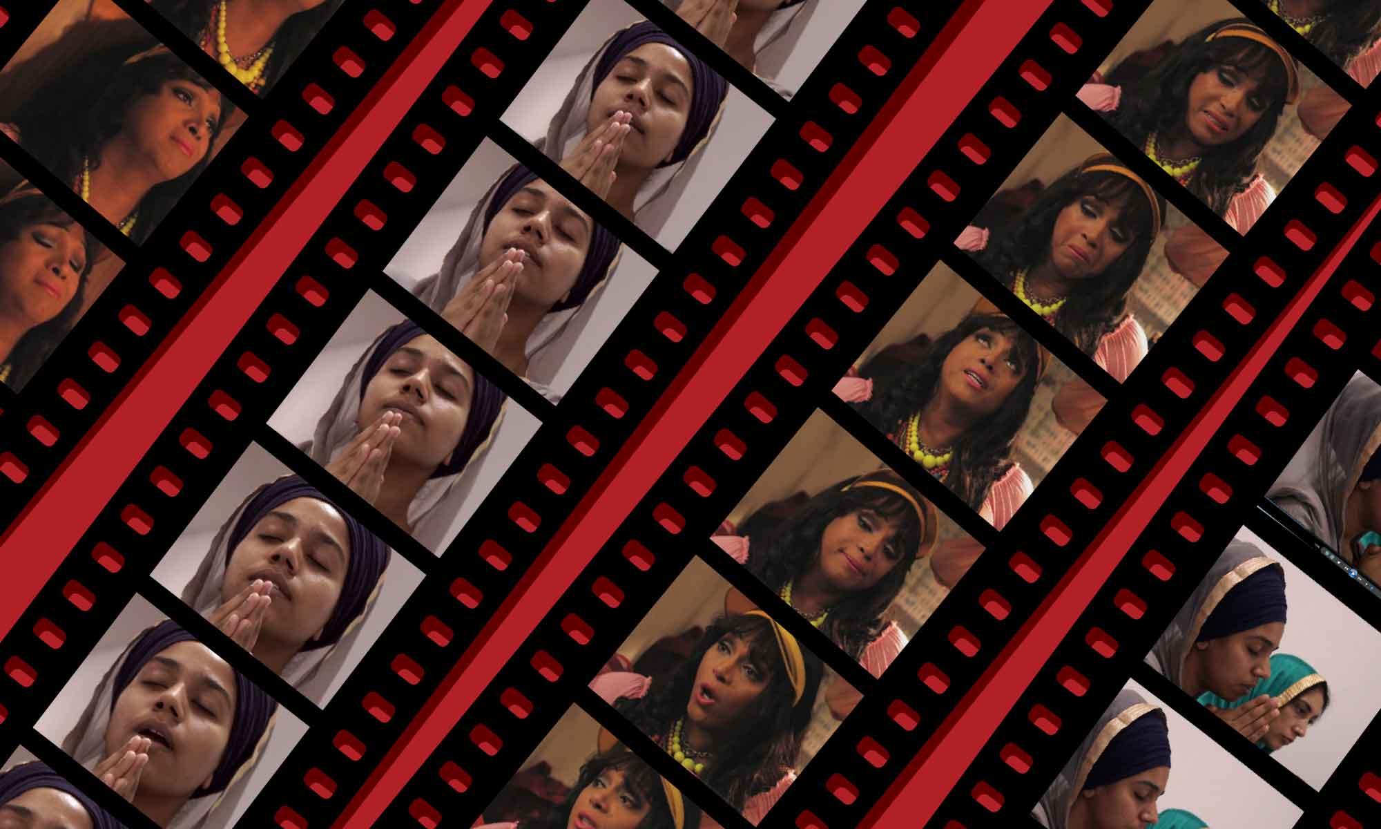 Fotogrammi delle protagoniste di due audiovisivi prodotti da Fargo Entertainment: Navampreet Kaur (da 'Codici d'amore') e Juana Jimenez (da 'Trans').
