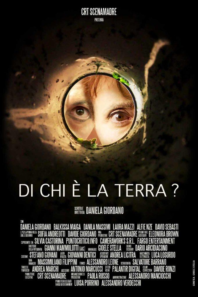"""Locandina del cortometraggio """"Di chi è la Terra?"""""""